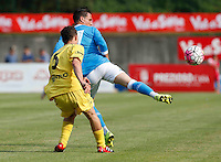 \7 durante l amichevole Napoli  Anaune a Dimaro 21 Luglio 2015<br /> <br /> Preseason summer training of Italy soccer team  SSC Napoli  in Dimaro Italy July 11, 2015
