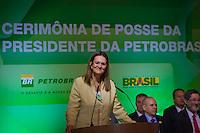 RIO DE JANEIRO, RJ, 13 DE FEVEREIRO DE 2012 - Cerimônia de Posse da nova Presidente da Petrobrás  - A nova Presidente da Petrobras, Graça Foster, discursa na cerimônia de tomada de posse, na sede da Petrobras.<br /> FOTO GLAICON EMRICH - NEWS FREE.