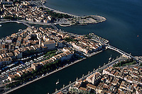 Martigues Vieux Port with Berre Pond, Provence, France.