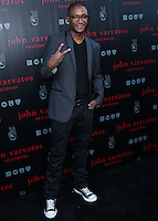 WEST HOLLYWOOD, CA, USA - SEPTEMBER 21: Tommy Davidson arrives at the John Varvatos #PeaceRocks Ringo Starr Private Concert held at the John Varvatos Boutique on September 21, 2014 in West Hollywood, California, United States. (Photo by Xavier Collin/Celebrity Monitor)