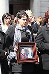 Former TD Michael Bell Funeral, Drogheda