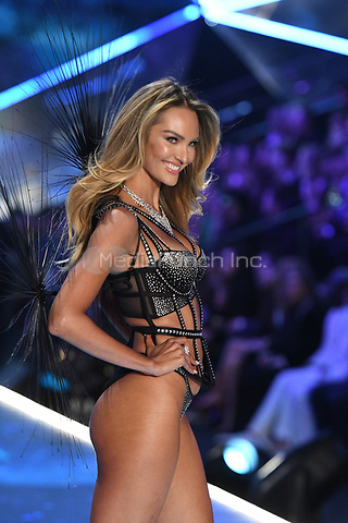 NEW YORK, NY - NOVEMBER 08: Candace Swanepoel at the 2018 Victoria's Secret Fashion Show at Pier 94 on November 8, 2018 in New York City. Credit: John Palmer/MediaPunch