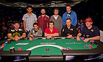 The final table nine of the NAPT Los Angeles Bounty Shooutout.