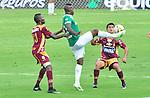 Deportivo Cali derrotó  2-1 a Deportes Tolima en el estadio olímpico Pascual Guerreo de Santiago de Cali en un partido bastante apretado.