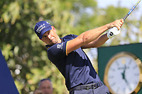 \Henrik Stenson (SWE) on the 14th tee during the 1st round of the DP World Tour Championship, Jumeirah Golf Estates, Dubai, United Arab Emirates. 15/11/2018<br /> Picture: Golffile | Fran Caffrey<br /> <br /> <br /> All photo usage must carry mandatory copyright credit (© Golffile | Fran Caffrey)