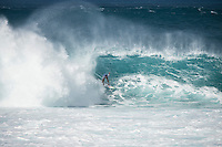 Pipeline,  OAHU - HAWAII, USA: (Wednesday, December 16, 2015): Adriano de Souza (BRA) The Billabong Pipe Masters in Memory of Andy Irons was  called back ON this morning with Round 3 commencing at 8am in solid eight-to-ten foot (2.5 - 3 metre) waves at the Banzai Pipeline. <br />  <br /> The final stop of the Men&rsquo;s Championship Tour and Vans Triple Crown of Surfing (a WSL Specialty Series), the Billabong Pipe Masters will decide the 2015 World Champion, the 2016 elite tour class and the Vans Triple Crown of Surfing Champion by the end of the event.<br />  Photo: joliphotos.com