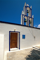 Kirche bei Akrotiri, Insel Santorin (Santorini), Griechenland, Europa