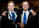 Lille - France- 05 October 2014 --  Euroskills 2014 competition, closing ceremony and medals. -- Team Finland - Pauli Manninen, pronssi, bronze medalist putkiasentaja / Plumbing and Heating.. -- PHOTO: SkillsFinland / Juha ROININEN - EUP-IMAGES