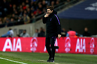 Tottenham Hotspur manager Mauricio Pochettino during Tottenham Hotspur vs Chelsea, Caraboa Cup Football at Wembley Stadium on 8th January 2019
