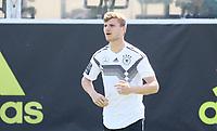 Timo Werner (Deutschland Germany) - 01.06.2018: Training der Deutschen Nationalmannschaft zur WM-Vorbereitung in der Sportzone Rungg in Eppan/Südtirol