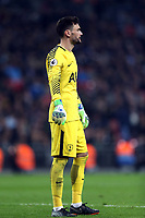 Hugo Lloris of Tottenham during Tottenham Hotspur vs Manchester City, Premier League Football at Wembley Stadium on 14th April 2018