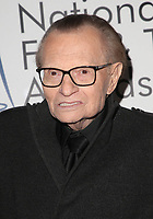 LOS ANGELES, CA - DECEMBER 5: Larry King at The National Film and Television Awards at The Globe Theater in Los Angeles, California on December 5, 2018. Credit: Faye Sadou/MediaPunch