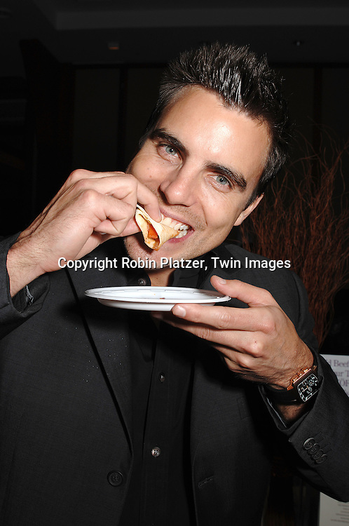 Colin Egglesfield..at The Feast with Famous Faces 2007 Gala benefitting..The League for the Hard of Hearing on October 22, 2007 at Pier Sixty at Chelsea Piers. ..Robin Platzer, Twin Images