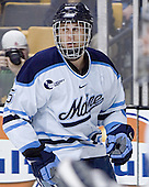 Travis Wight - The Boston College Eagles defeated the University of Maine Black Bears 4-1 in the Hockey East Semi-Final at the TD Banknorth Garden on Friday, March 17, 2006.