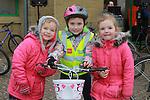 Orlaith, Kayla and Shona Ferguson at the Operation Transformation 10km cycle from Ardee Parish Centre.