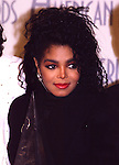 Janet Jackson 1987 American Music Awards.© Chris Walter.