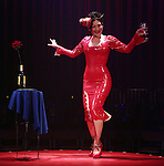 Miss Behave performs during the 'La Soiree'  Open Press Rehearsal at the Union Square Theatre on October 30, 2013  in New York City.