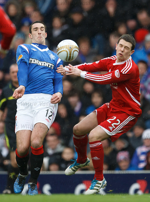 Lee Wallace and Ryan Jack