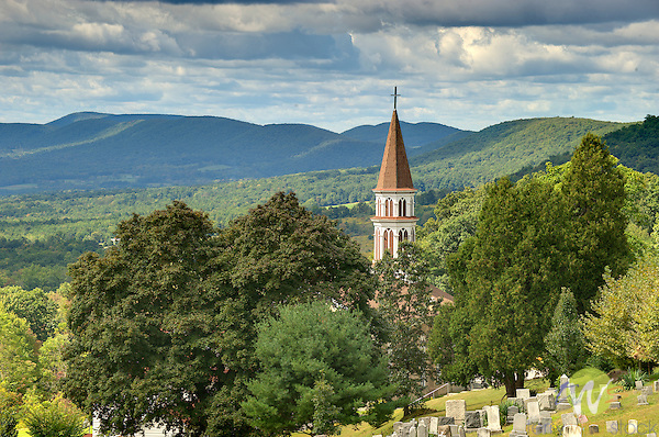 Immaculate Conception Church, Nippenose Valley, PA. in September.