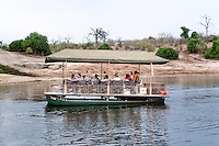 Africa, Botswana, Kasane, Chobe National Park, Chobe Game Lodge, Chobe guides on the Chobe River.