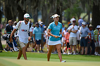Lexi Thompson (USA) approaches the green on 4 during round 4 of the 2019 US Women's Open, Charleston Country Club, Charleston, South Carolina,  USA. 6/2/2019.<br /> Picture: Golffile | Ken Murray<br /> <br /> All photo usage must carry mandatory copyright credit (© Golffile | Ken Murray)