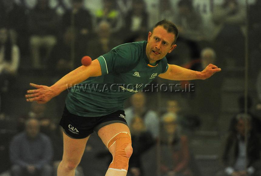 07/10/2017; Myclubshop.ie All-Ireland Handball 60x30 Championship, Men&rsquo;s Intermediate Singles Final - Martin Mulkerrins (Galway) vs JP O&rsquo;Connor (Limerick); GAA Handball Center, Croke Park, Dublin;<br /> JP O'Connor, Limerick.<br /> Photo Credit: actionshots.ie/Tommy Grealy