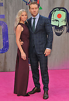Mecki Dent &amp; Jai Courtney at the &quot;Suicide Squad&quot; European film premiere, Odeon Leicester Square cinema, Leicester Square, London, England, UK, on Wednesday 03 August 2016.<br /> CAP/CAN<br /> &copy;CAN/Capital Pictures /MediaPunch ***NORTH AND SOUTH AMERICAS ONLY***