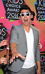 LOS ANGELES, CA. - March 27: Joe Jonas  arrive at Nickelodeon's 23rd Annual Kid's Choice Awards at Pauley Pavilion on March 27, 2010 in Los Angeles, California.