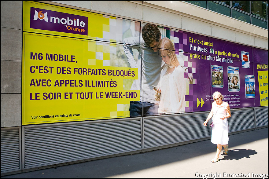 Publicit&eacute;<br /> M6 mobile by Orange