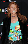 "Angie Everhart arriving at Disney's ""Muppets Most Wanted"" Los Angeles Premiere, held at El Capitan Theatre March 11, 2014."