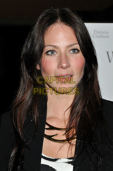 "LYNN COLLINS.""Whatever Works"" Los Angeles Premiere held at the Pacific Design Center, West Hollywood, CA, USA..June 8th, 2009.headshot portrait gold necklace black.CAP/ADM/BP.©Byron Purvis/AdMedia/Capital Pictures."