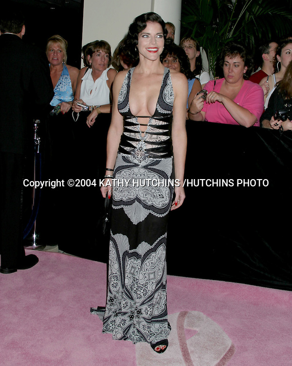©2004 KATHY HUTCHINS /HUTCHINS PHOTO.DAYTIME EMMYS.NEW YORK CITY, NY.MAY 21, 2004..LESLIE KAY STERLING