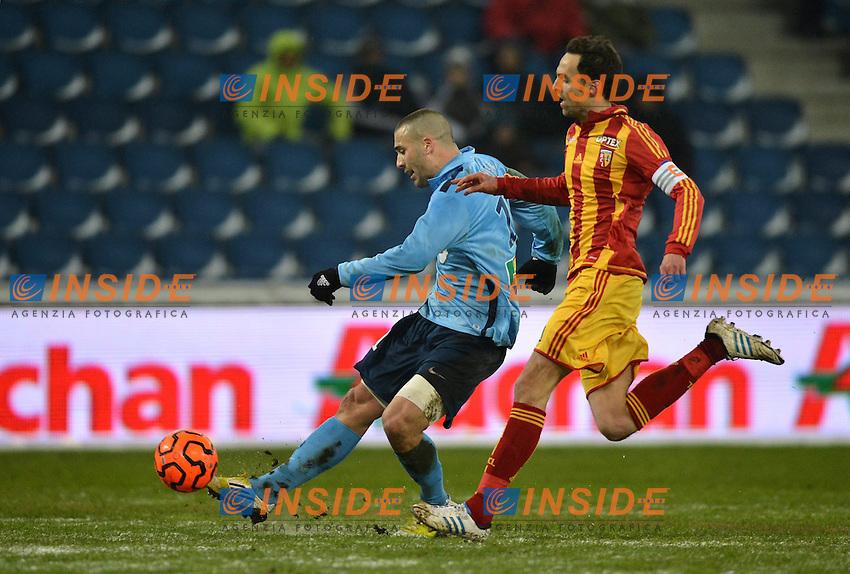 BUT Yohann RIVIERE (hav) - Jerome LEMOIGNE (len) .Football Calcio 2012/2013.Ligue 1 Francia.Le Havre Vs Lens.Foto Panoramic / Insidefoto .ITALY ONLY
