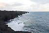 The Pacific coastline at Volcanoes National Park on the Big Island of Hawaii. Photo by Kevin J. Miyazaki/Redux