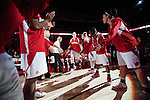 Wisconsin Badgers forward Lin Zastrow (33) is introduce prior to an NCAA college women's basketball game against the Duke Blue Devils during the ACC/Big Ten Challenge at the Kohl Center in Madison, Wisconsin on December 2, 2010. Duke won 59-51. (Photo by David Stluka)