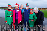 Ready for a run for fun at the Santa Fun run in memory of Fiona Moore, in the Tralee Bay Wetlands on Sunday. L to r:  Tracy Moriarty, Clair Molloy, Frank O'Connor, Oliver Molloy, Bojna Kuleszawiz and Liam Hayes