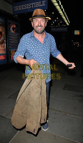 "Lee Mack at the ""Waitress"" cast change media night, Adelphi Theatre, The Strand, London, England, UK, on Tuesday 02nd July 2019.<br /> CAP/CAN<br /> ©CAN/Capital Pictures"