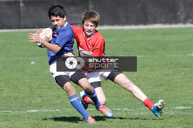 Under 48kg Rugby Nelson Bays vs Blenheim, 06th September 2014, Ricky Wilson/Shuttersport
