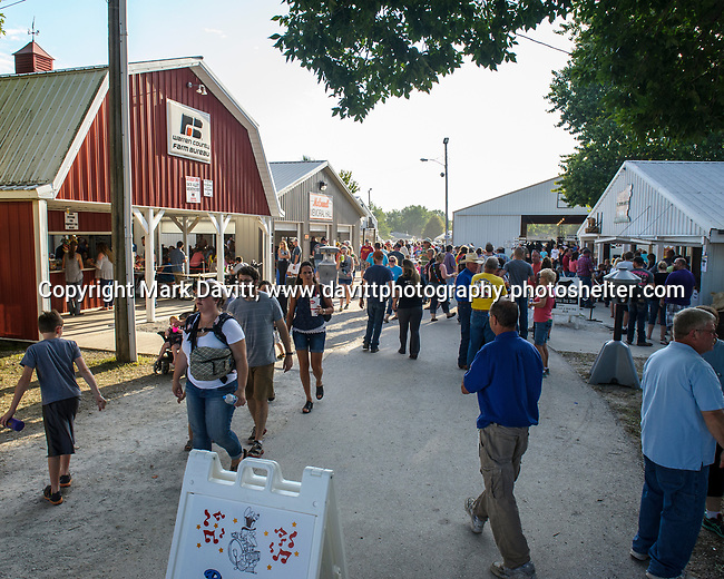 Warren County Fair goers enjoyed the food booths for breakfast lunch and supper.