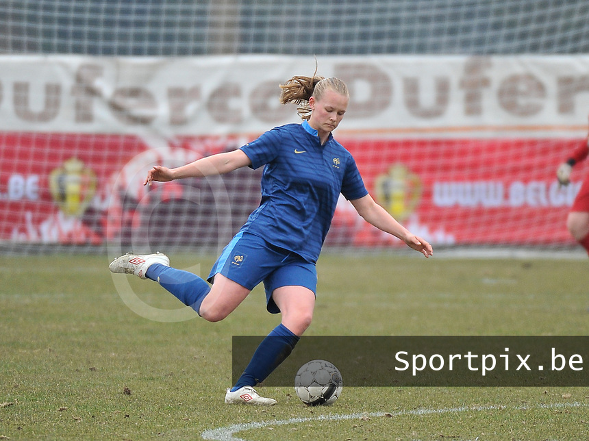 France U19 - Russia U19 : Charlotte Saint Sans Levacher.foto DAVID CATRY / Nikonpro.be