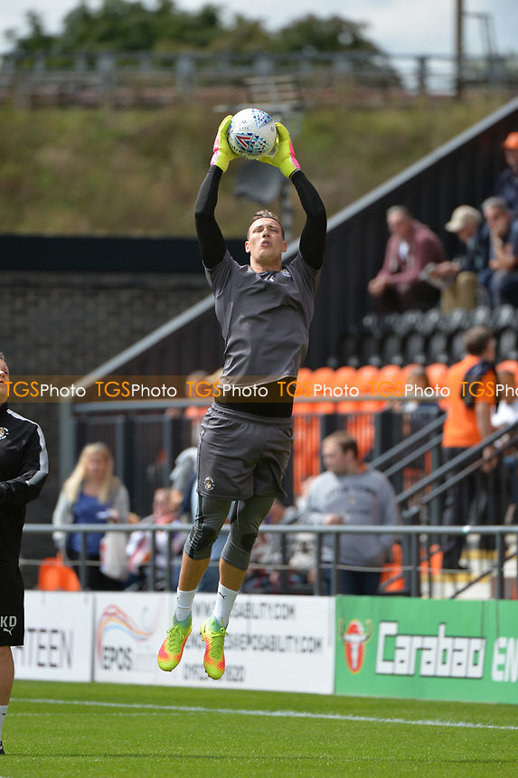 Marek Stech of Luton Town warms up during Barnet vs Luton Town, Sky Bet EFL League 2 Football at the Hive Stadium on 12th August 2017