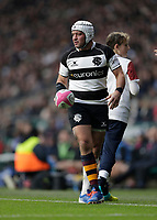 16th November 2019; Twickenham, London, England; International Rugby, Barbarians versus Fiji; Rory Best of Barbarians about to take a line-out - Editorial Use
