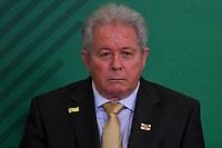 BRASÍLIA, DF, 07.01.2019 – AGENDA-BOLSONARO – O novo presidente do Banco do Brasil, Rubens Novaes durante sua Posse, nesta segunda-feira, 07, no Palácio do Planalto. (Foto: Ricardo Botelho/Brazil Photo Press)