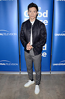 "LOS ANGELES - JUN 17:  Manny Jacinto at the ""The Good Place"" FYC Panel at the UCB Sunset Theater on June 17, 2019 in Los Angeles, CA"