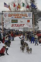 Ryan Redington Willow restart Iditarod 2008.