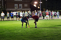 Dawg Daze: Glow-in-the-dark frisbee on the Drill Field.<br />  (photo by Megan Bean / &copy; Mississippi State University)