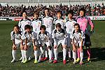 INACINAC Kobe Leonessa team group line-up, .DECEMBER 24, 2012 - Football /Soccer : .The 34 Empress's Cup .between INAC Kobe Leonessa 1-0 Jef United Ichihara Chiba Ladies .at NACK5 Stadium Omiya, Saitama, Japan. .(Photo by YUTAKA/AFLO SPORT)