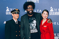 Questlove at Delta Air Lines Kicks Off GRAMMY Weekend With Performance By Charli XCX & DJ Set By Questlove (Photo by Tiffany Chien/Guest Of A Guest)