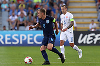 James Ward-Prowse of England and Adam Zreílak of Slovakia during Slovakia Under-21 vs England Under-21, UEFA European Under-21 Championship Football at The Kolporter Arena on 19th June 2017