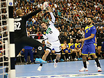 12.01.2019, Mercedes Benz Arena, Berlin, GER, Germany vs. Brazil, im Bild Fabian Wiede (GER #10), Leonardo Tercariol (BRA #62)<br /> <br />      <br /> Foto &copy; nordphoto / Engler